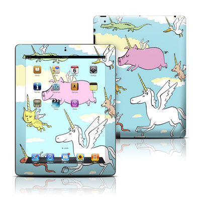 Apple iPad 3 Skin - Fly