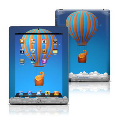Apple iPad 3 Skin - Flying Elephant