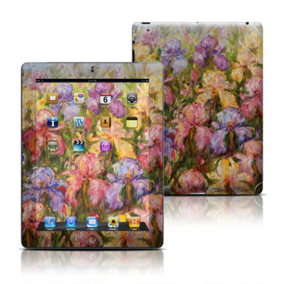 Apple iPad 3 Skin - Field Of Irises