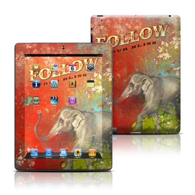 Apple iPad 3 Skin - Follow Your Bliss