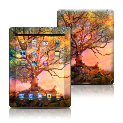 Apple iPad 3 Skin - Fox Sunset