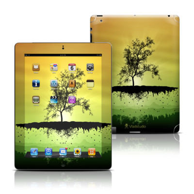 Apple iPad 3 Skin - Flying Tree Amber