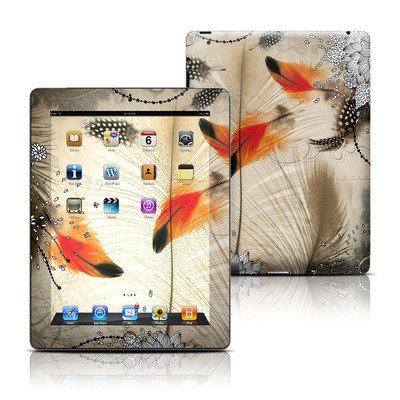 Apple iPad 3 Skin - Feather Dance
