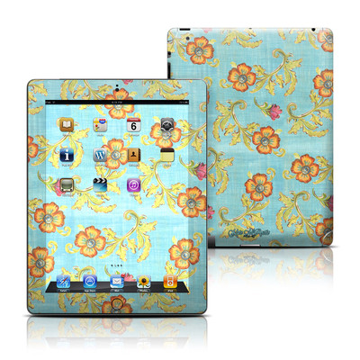 Apple iPad 3 Skin - Garden Jewel