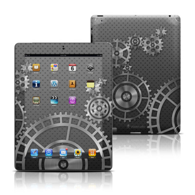 Apple iPad 3 Skin - Gear Wheel
