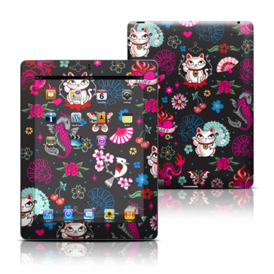 Apple iPad 3 Skin - Geisha Kitty