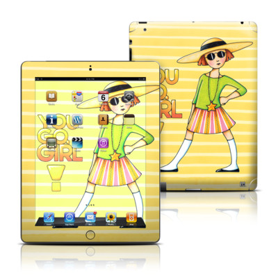 Apple iPad 3 Skin - You Go Girl