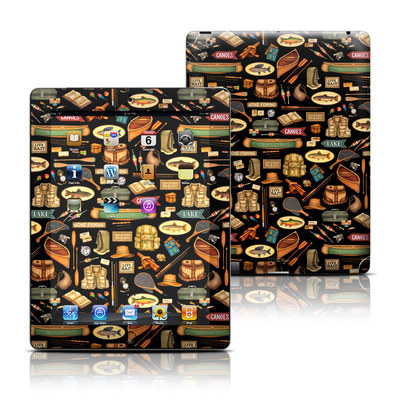 Apple iPad 3 Skin - Gone Fishing