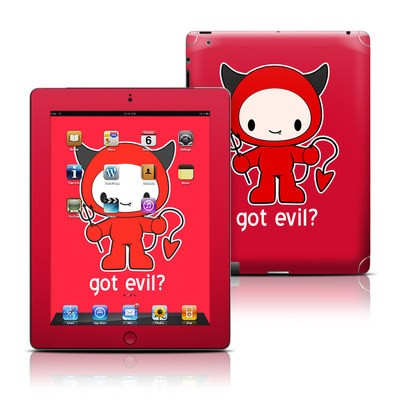 Apple iPad 3 Skin - Got Evil