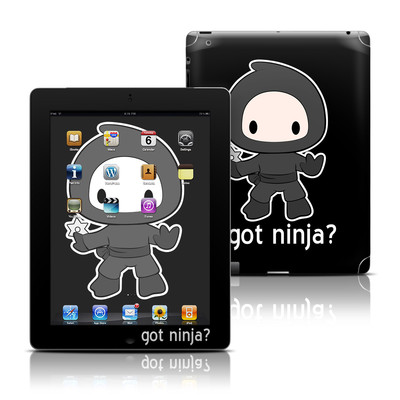 Apple iPad 3 Skin - Got Ninja