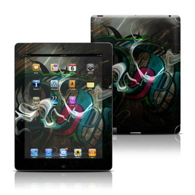 Apple iPad 3 Skin - Graffstract