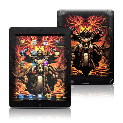 Apple iPad 3 Skin - Grim Rider