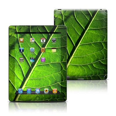 Apple iPad 3 Skin - Green Leaf