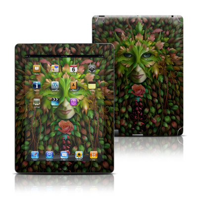 Apple iPad 3 Skin - Green Woman