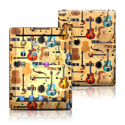Apple iPad 3 Skin - Guitar Collage