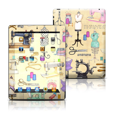 Apple iPad 3 Skin - Haberdashery