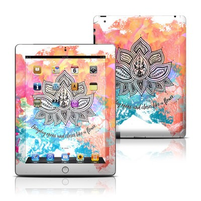 Apple iPad 3 Skin - Happy Lotus
