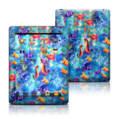 Apple iPad 3 Skin - Harlequin Seascape
