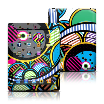 Apple iPad 3 Skin - Hula Hoops