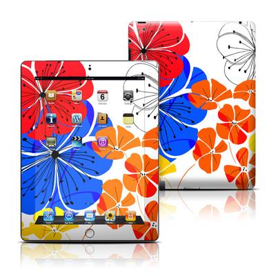 Apple iPad 3 Skin - Hibiscus Dance