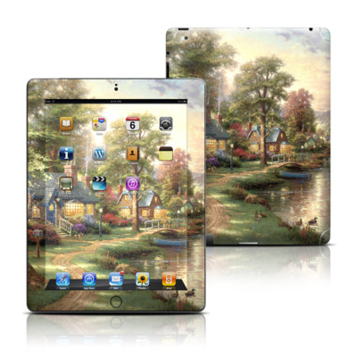 Apple iPad 3 Skin - Hometown Lake
