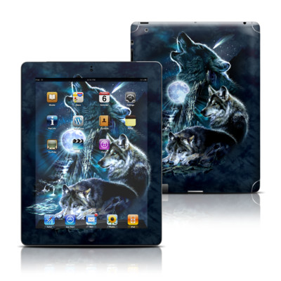 Apple iPad 3 Skin - Howling