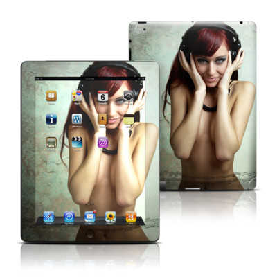 Apple iPad 3 Skin - Headphones