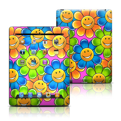 Apple iPad 3 Skin - Happy Daisies