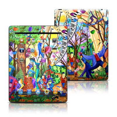 Apple iPad 3 Skin - Happy Town Celebration