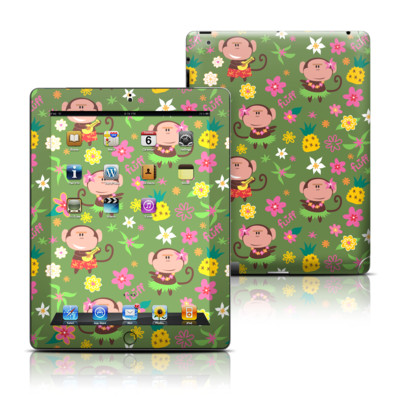 Apple iPad 3 Skin - Hula Monkeys