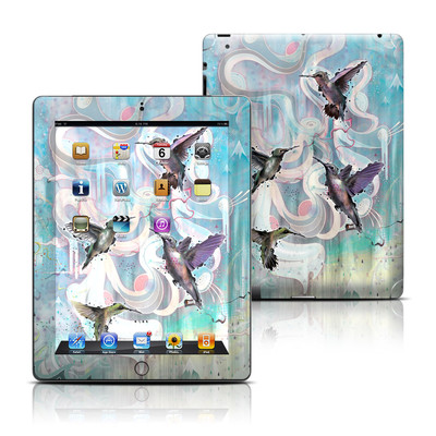 Apple iPad 3 Skin - Hummingbirds