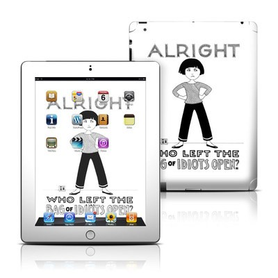 Apple iPad 3 Skin - Bag of Idiots