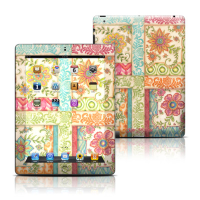 Apple iPad 3 Skin - Ikat Floral