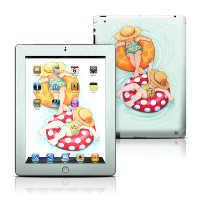Apple iPad 3 Skin - Inner Tube Girls