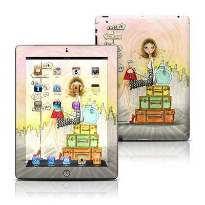 Apple iPad 3 Skin - The Jet Setter