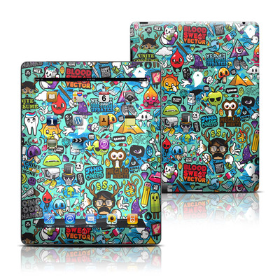Apple iPad 3 Skin - Jewel Thief