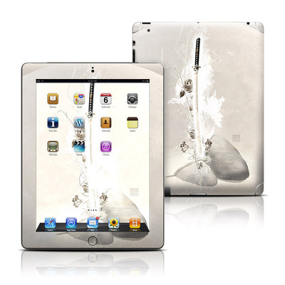 Apple iPad 3 Skin - Katana Gold