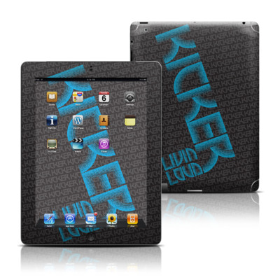 Apple iPad 3 Skin - KICKER Wall
