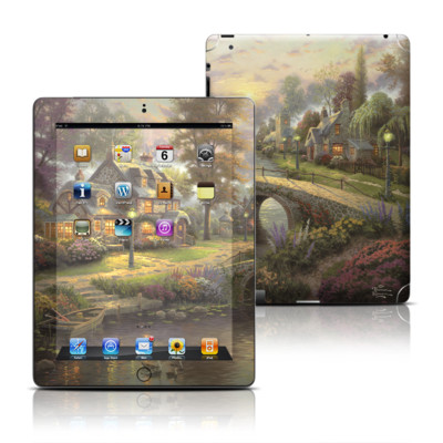 Apple iPad 3 Skin - Sunset On Lamplight Lane