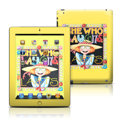 Apple iPad 3 Skin - She Who Laughs