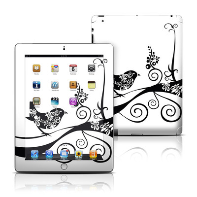 Apple iPad 3 Skin - Little Curly