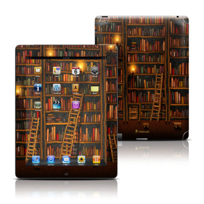 Apple iPad 3 Skin - Library