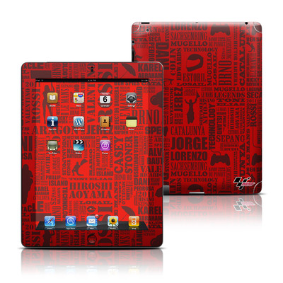 Apple iPad 3 Skin - Life of MotoGP