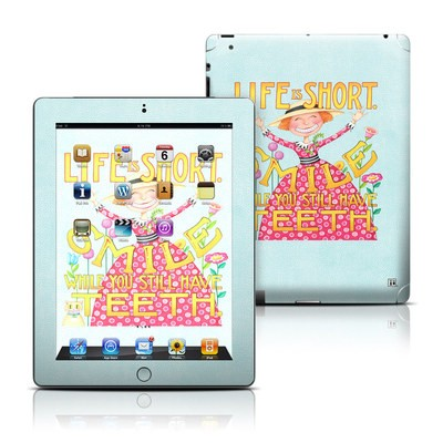 Apple iPad 3 Skin - Life is Short