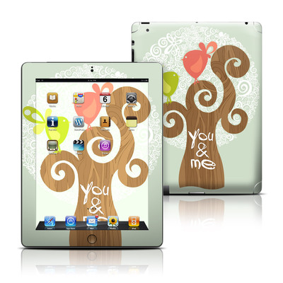 Apple iPad 3 Skin - Two Little Birds