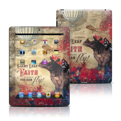 Apple iPad 3 Skin - Leap Of Faith