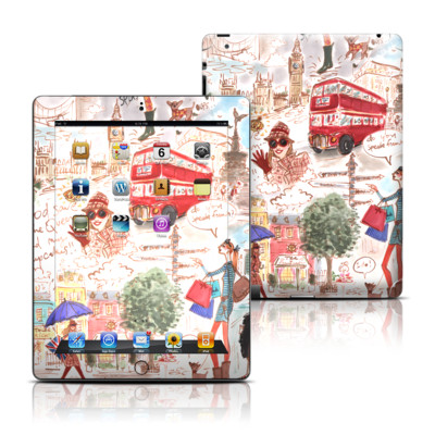 Apple iPad 3 Skin - London