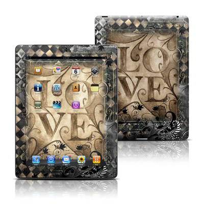Apple iPad 3 Skin - Love's Embrace