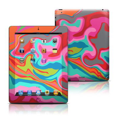 Apple iPad 3 Skin - Marble Bright