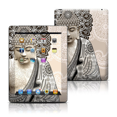 Apple iPad 3 Skin - Meditation Mehndi